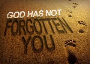 You Are Not Forgottten..