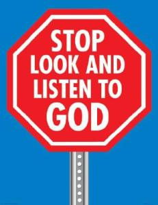 Stop-Look-and-Listen-to-God-Large-Poster-9780764707513